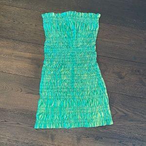 Barney's AREA mermaid mini bodycon dress